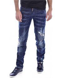 DSquared² Skinny Jeans S71lb0509 - Blauw