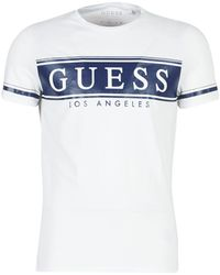 b92b25426dff Guess Original Men's T Shirt In Red in Red for Men - Save 55% - Lyst