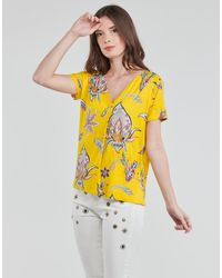 Desigual T-Shirt Lemark - Giallo