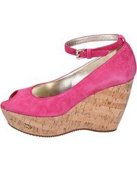 Hogan Chaussures escarpins Escarpins Daim - Rose