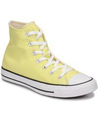 Converse Zapatillas altas CHUCK TAYLOR ALL STAR SEASONAL COLOR HI - Amarillo