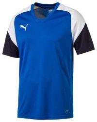 PUMA T-shirts Esito 4 Training - Blauw