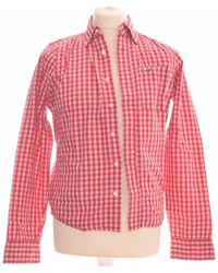 Hollister Chemise Manches Longues 36 - T1 - S Chemise - Rose