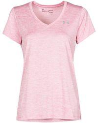 Under Armour Camiseta TECH SSV - Rosa