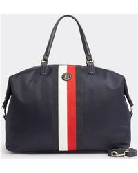 Tommy Hilfiger Aw0aw07396 Poppy Weekender Travel Bag - Blue