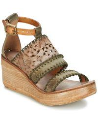 A.S.98 - Noa Women's Sandals In Green - Lyst