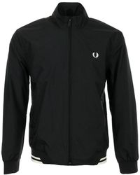 Fred Perry Jacket Brentham - Negro