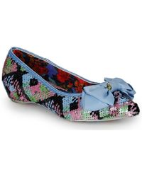 Irregular Choice Ballerina's Mint Slice - Blauw