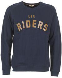 Lee Jeans RIDERS SWS Sweat-shirt - Bleu