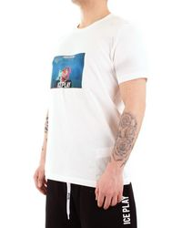 Iceberg 21EU1M0F081P400 T-shirt - Blanc