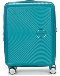 American Tourister Reiskoffers Sounbox 55cm - Blauw