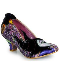 Irregular Choice Pumps Touch The Spindle! - Roze