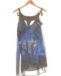 ASOS Robe Courte 38 - T2 - M Robe - Bleu