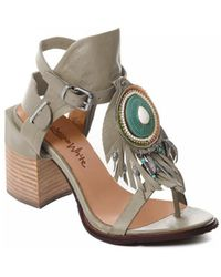 Rebecca White T0509 Chaussures escarpins - Gris