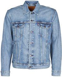 Levi's Spijkerjack Levis The Trucker Jacket - Blauw