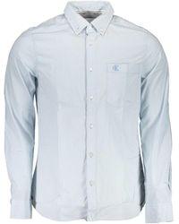 Calvin Klein Long Sleeved Shirt - Blue