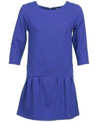 Betty London - Candeur Women's Dress In Blue - Lyst