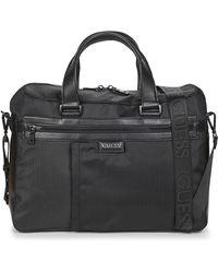Guess Aktetas Massa Briefcase - Zwart