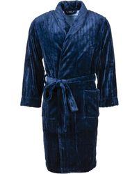 Hom Nuit Pyjamas / Chemises de nuit - Bleu