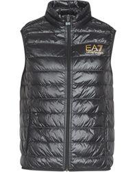 EA7 Daunenjacken CORE ID 8NPQ02 - Schwarz