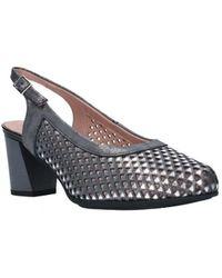 Pitillos Zapatos de tacón 5557 Mujer Gris