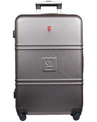 Słoń Torbalski 040401 Hard Suitcase - Gray