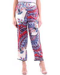 Jucca J3114029 Pantalons de costume - Rouge