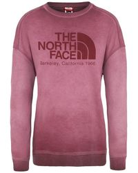 The North Face Washed Berkeley Crew Sweat-shirt - Rose