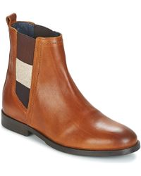 Tommy Hilfiger Genny Women's Mid Boots In Brown