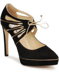 Moschino MA1004 femmes Chaussures escarpins en Noir