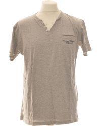 Chevignon T-shirt Manches Courtes 42 - T4 - L/xl T-shirt - Gris
