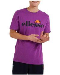 Ellesse Camiseta SHI07405_Purple - Morado