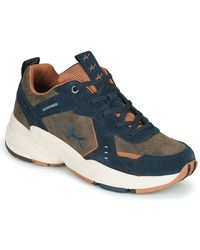 Allrounder By Mephisto Lage Sneakers Devina - Blauw