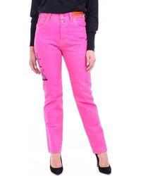 Heron Preston Slim Fit Jeans HWYA008R20927026 - Lila