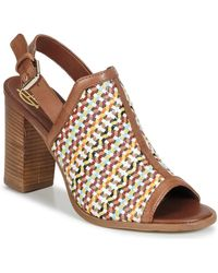House of Harlow 1960 Teagan Women's Sandals In Multicolour - Brown