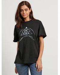 Volcom Stone Splif Tee T-shirt - Noir