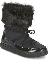 Crocs™ LODGEPOINT LACE BOOT W 203423-001 femmes Bottes neige en Noir