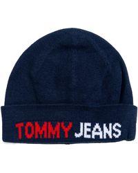 Tommy Hilfiger Bonnet AM0AM06659 - Bleu