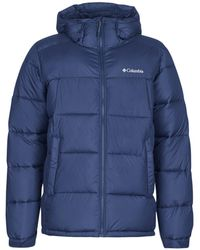 Columbia Donsjas Pike Lake Hooded Jacket - Blauw