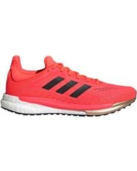 adidas Chaussures Solar Glide 3 Boost - Rouge