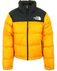 The North Face Veste Nuptse 1996 Femme - Jaune