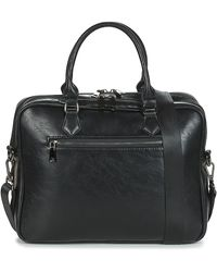 Casual Attitude Lolea Men's Briefcase In Black