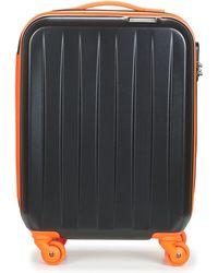 David Jones Musqueta 30l Women's Hard Suitcase In Black