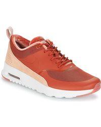 Nike Lage Sneakers Air Max Thea Lx W - Oranje