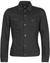 Lee Jeans Giacca In Jeans Slim Rider - Nero