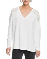 Roxy T-shirt ERJKT03742 - Blanc