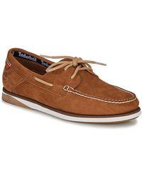 Timberland Chaussures Bateau Atlantic Marron