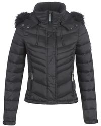 Superdry Donsjas Fuji Slim 3 In 1 Jacket - Zwart