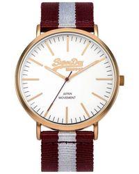 Superdry Horloge Oxford Nylon Syg183ve - Meerkleurig