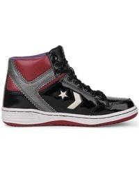 106e8864ecdf Converse - Weapon 86 Black 5 Hi Black Men s Shoes (high-top Trainers)